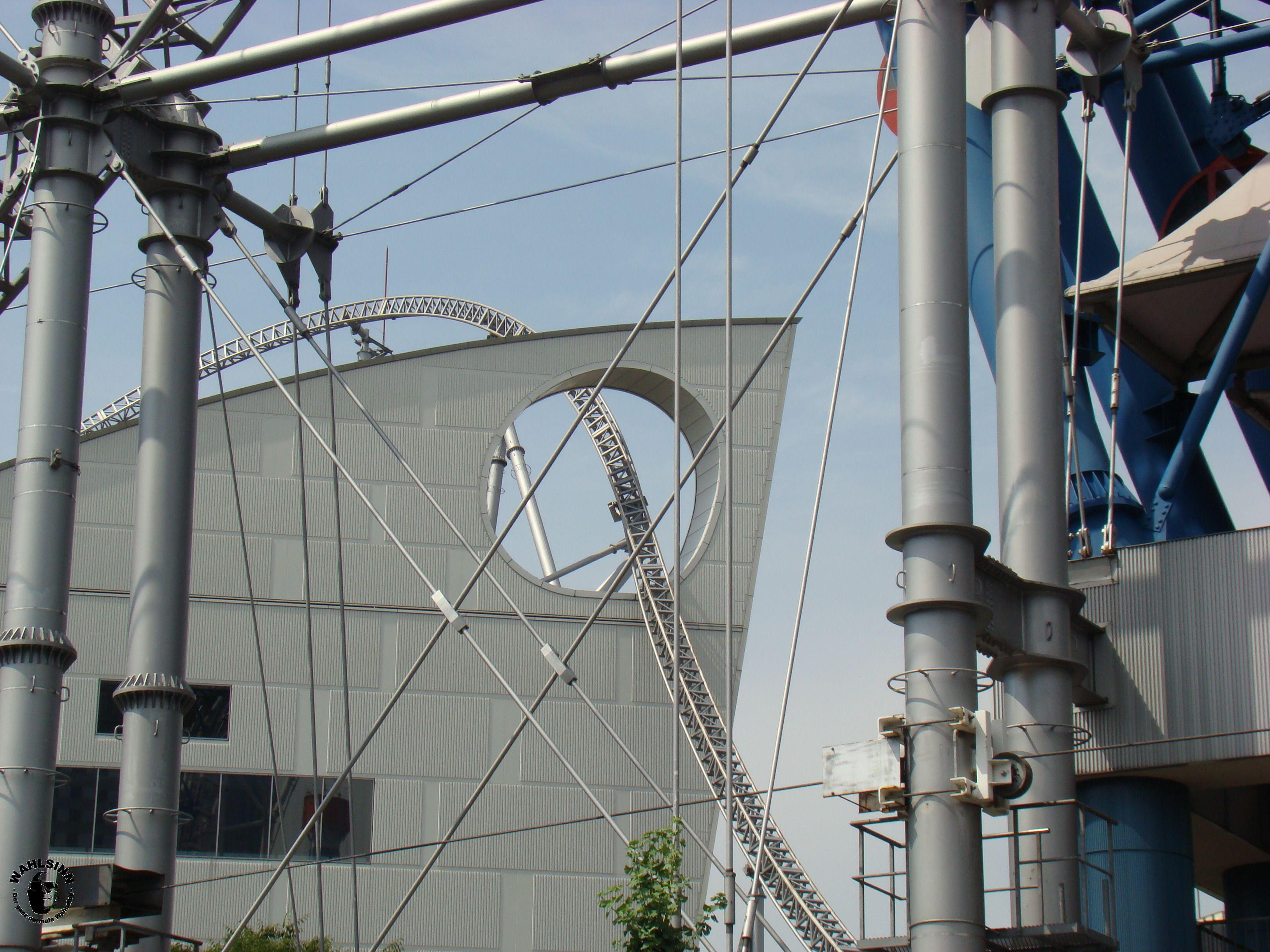 Japan // Tokio - Im Freizeitpark LaQua erwartet dich eine skurille Achterbahn