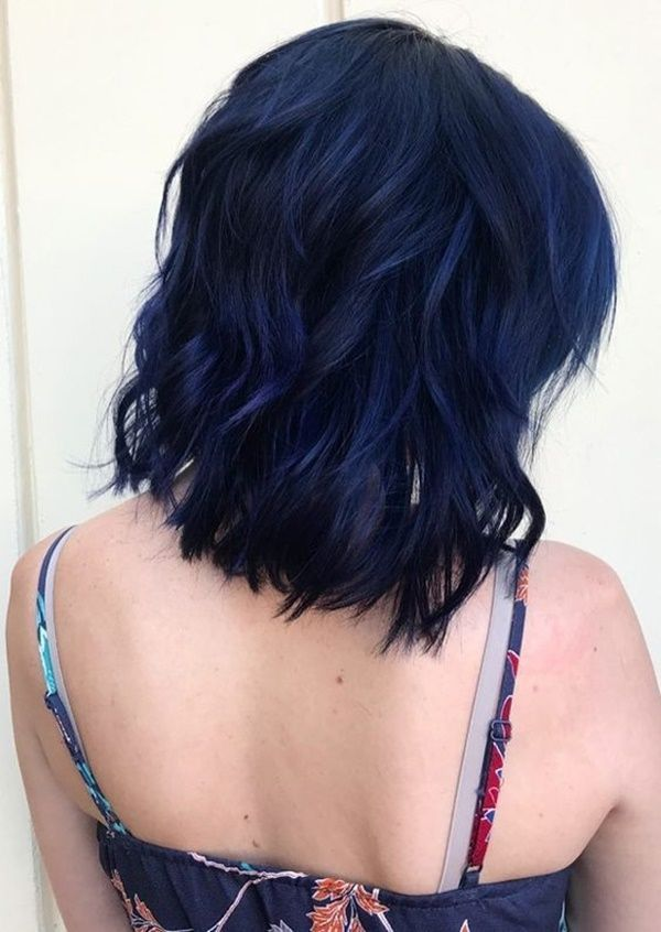 how to achieve blue hair