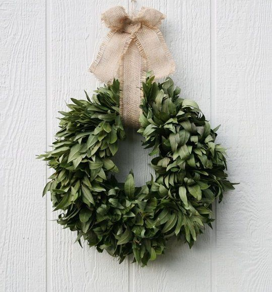 Christmas Decorations All Year Long: Hang A Bay Wreath For Christmas (and Enjoy It All Year