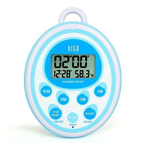 Bathroom Shower Clock Timer