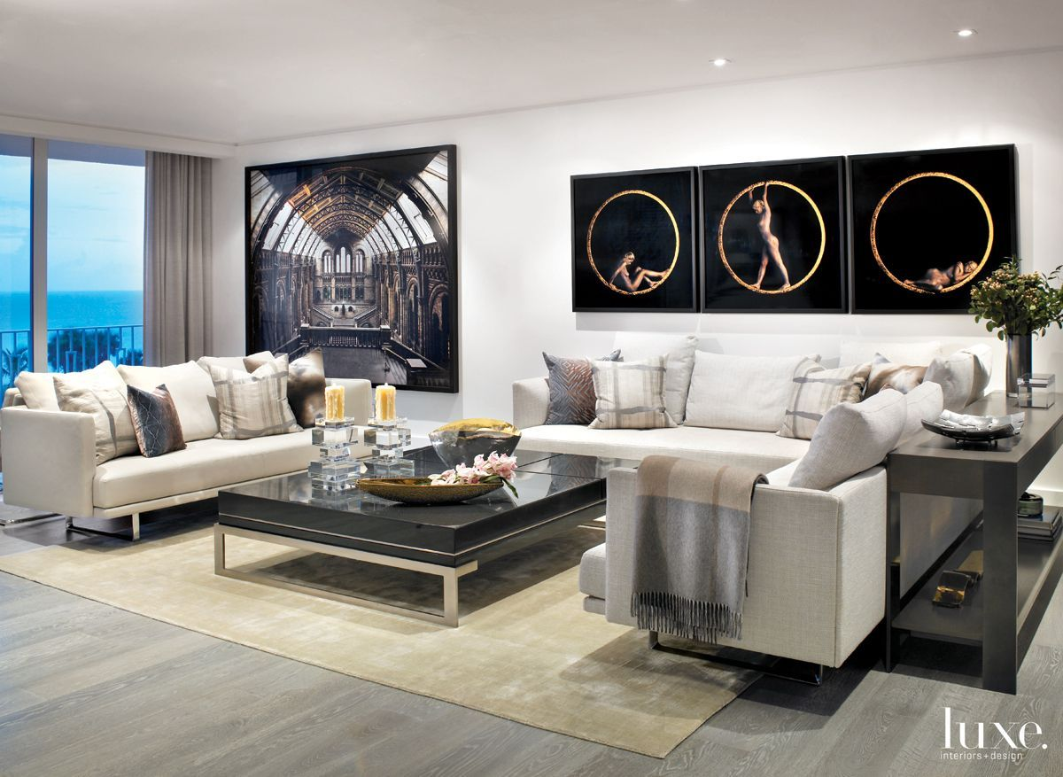 Interior Designer Cindy West Ray Procured Modern Furnishings With