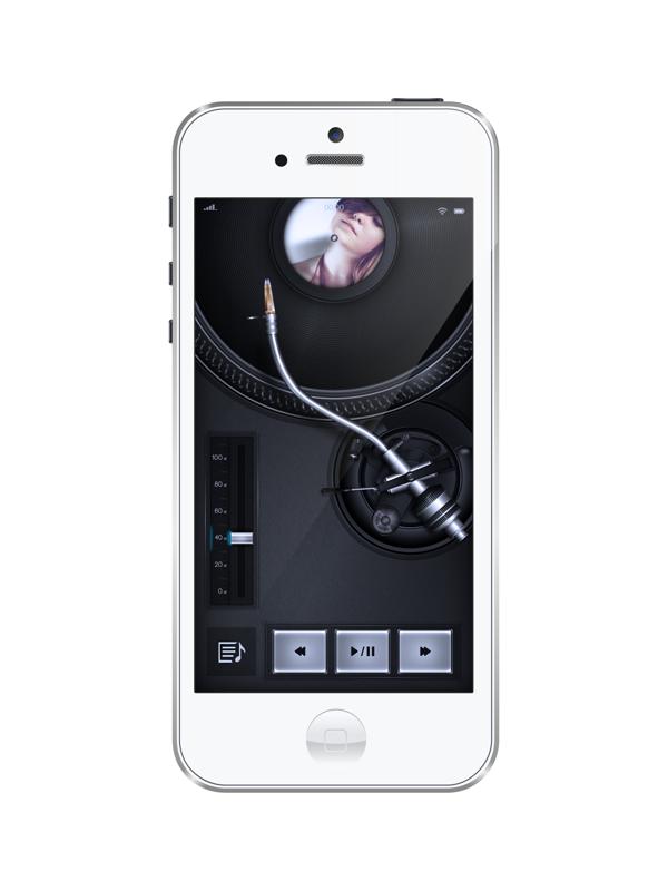 Radio app / Podcast Player Design iPhone by Ishan Madushka