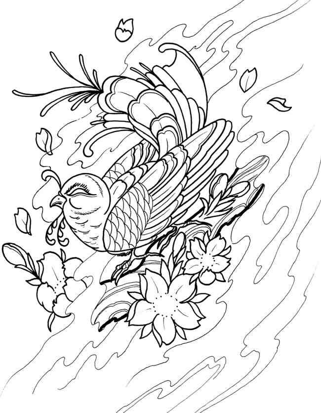 Welcome To Dover Publications Creative Haven Floral Tattoo Designs Coloring Book Erik Siuda