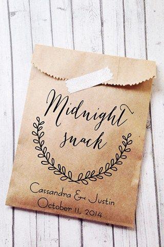 Midnight Snack Favours Bridesmagazine Co Uk Cookie Wedding Favorscreative