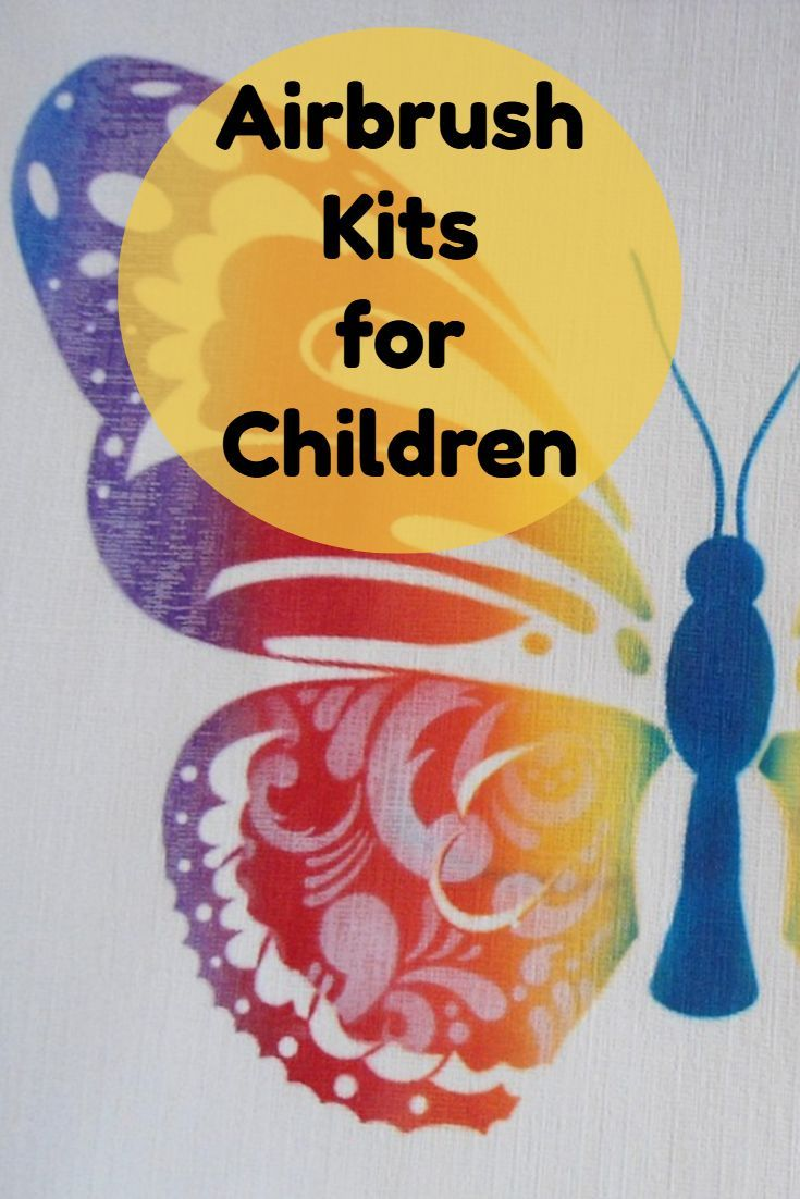 Craft sets for kids - Airbrush Kits For Kids