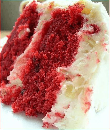 The Best Red Velvet Cake You Ll Need 2 Eggs 1 1 2 C Sugar 1 1 2 C Vegetable Oil 1 Tsp Best Red Velvet Cake Red Velvet Cake Frosting Homemade Red Velvet Cake