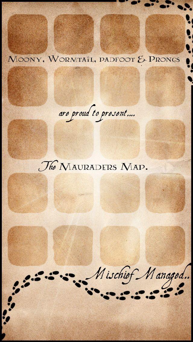 HD wallpapers marauders map wallpaper for iphone