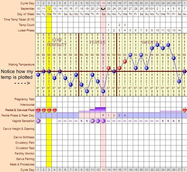 basal body temperature graphbbt chart for pregnancy 621x570 Normal ...