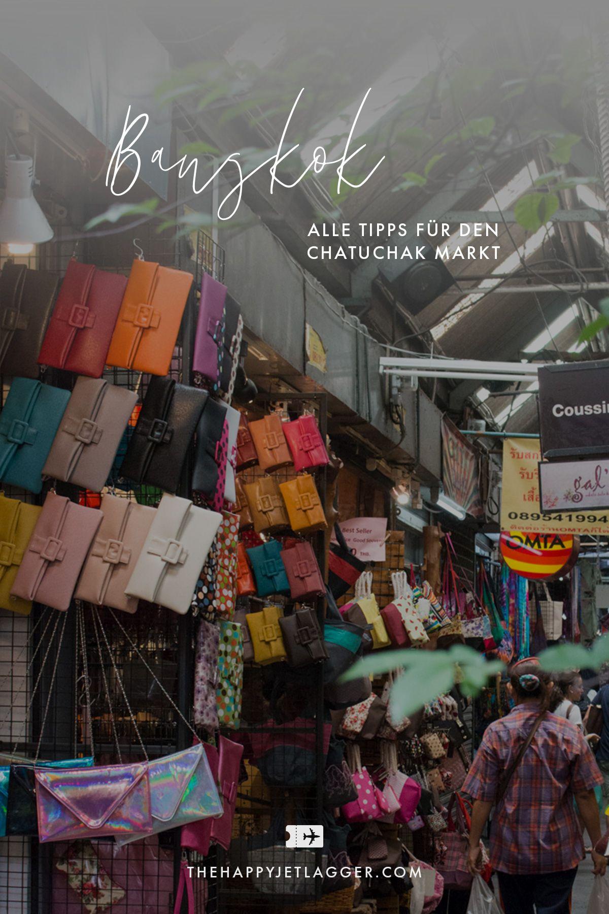 Chatuchak Markt in Bangkok: Shopping ohne Ende in 2020 ...