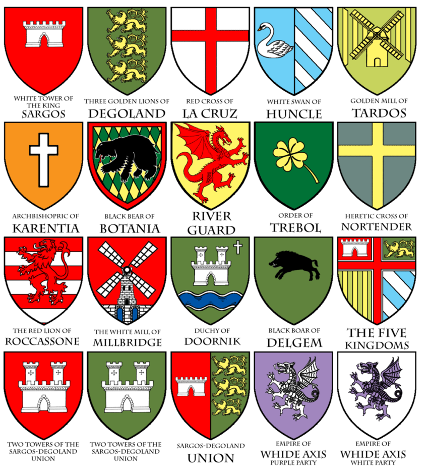 Heraldry of Aiers by Shabazik   Symbols, icons, heraldry, banners ...