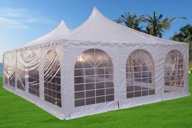 Pagoda Pvc Tent 32 X20 Heavy Duty Wedding Party Tent Canopy White Party Tent Tent Canopy Tent