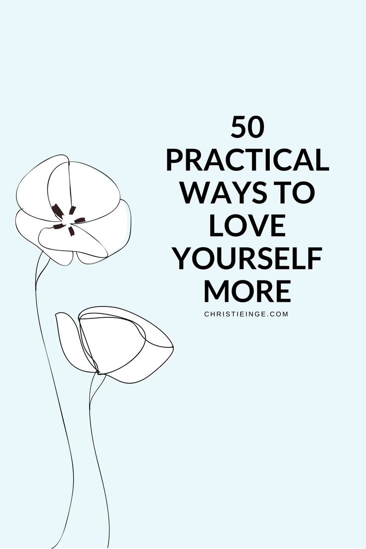 29 Ways to Love Yourself advise