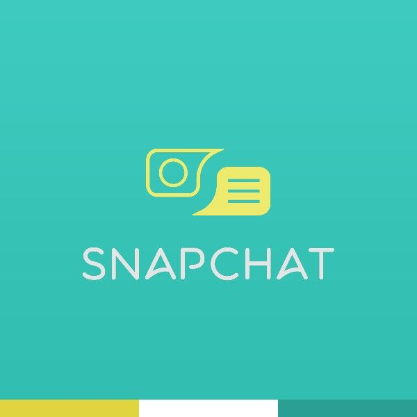 Snapchat logo redesign by Elliot Marcucci   Snapchat logo ...