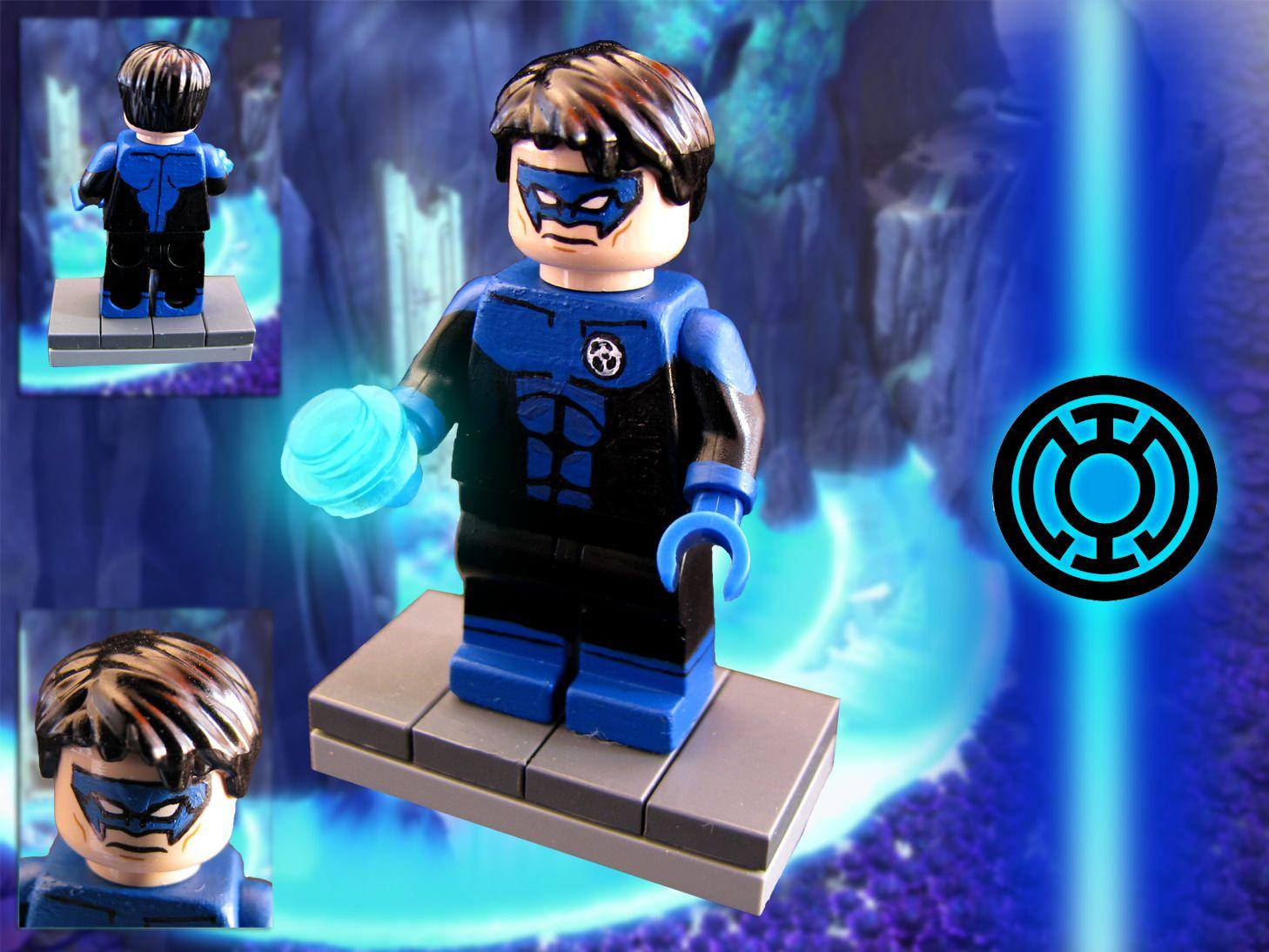 Lego LAIRA OMOTO Custom Printed Minifig DC Superhero Green Lantern New Earth