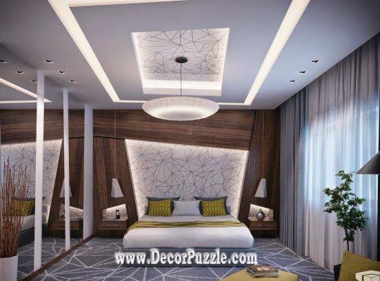 Modern Plaster Of Paris Designs For Bedroom 2015 Pop