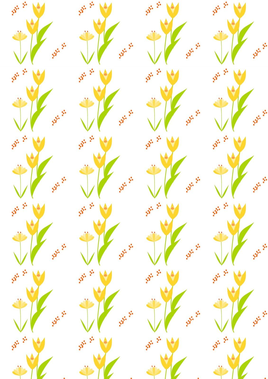 MeinLilaPark – DIY printables and downloads: Free digital floral ...