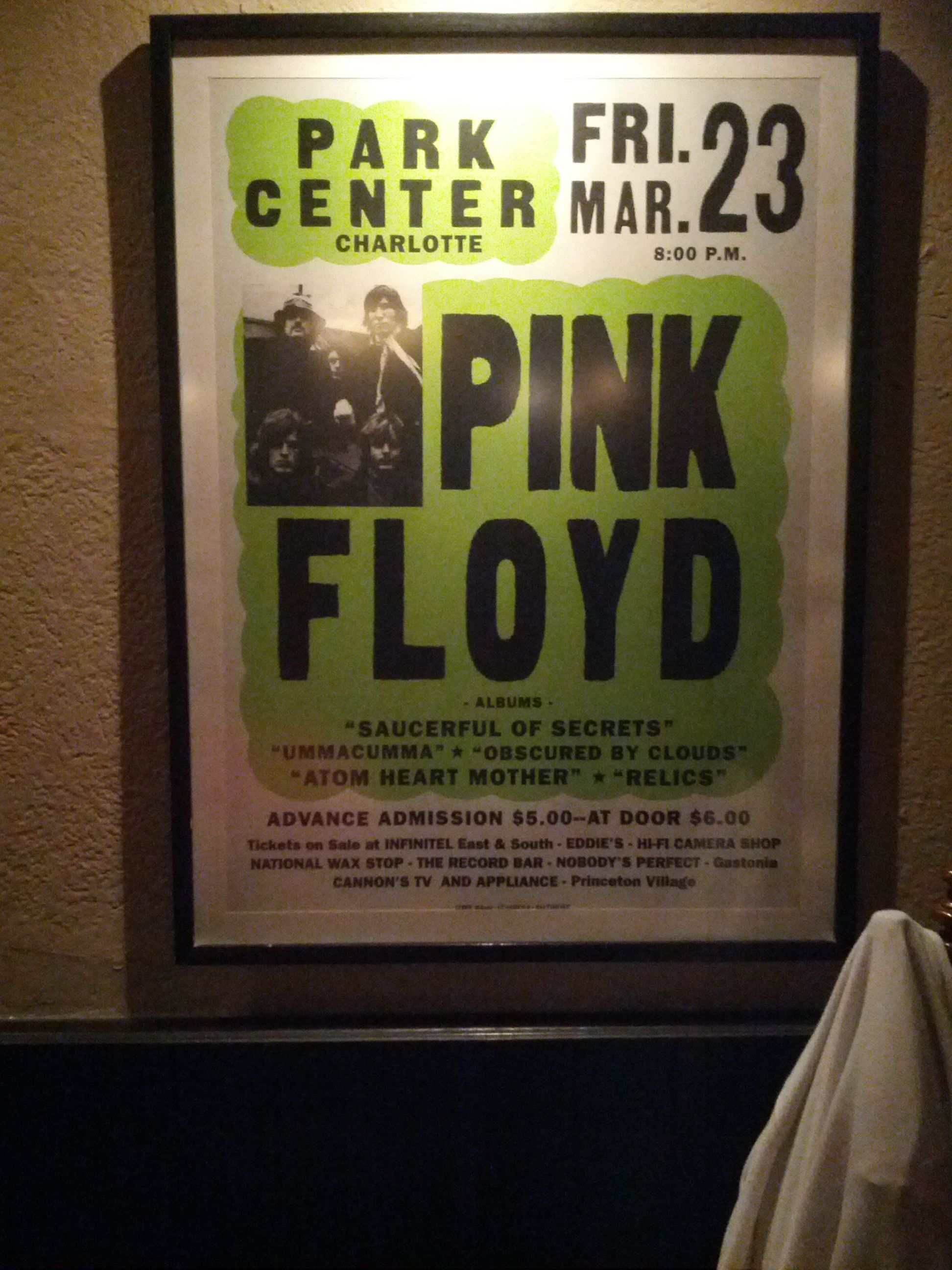 Pink Floyd Live At Park Center Dark Side Of The Moon Tour 1973