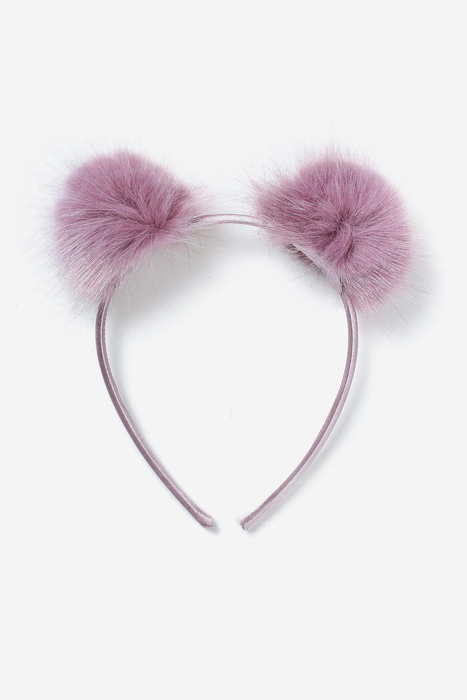 059e2a1ee0f Fluffy Pom Pom Headband - Hair Accessories