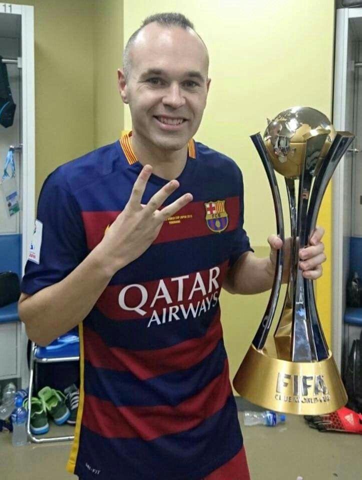 El Nostre Grand Capita Andres Iniesta Iniesta Andres Iniesta Club World Cup