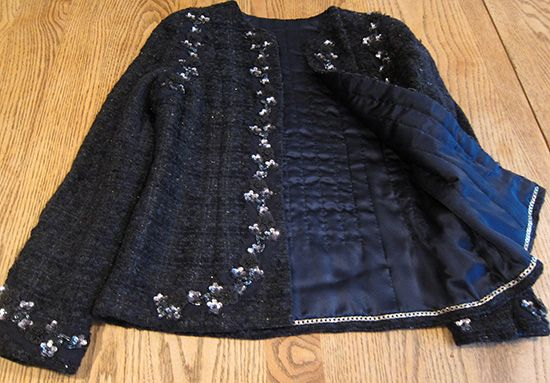 Frabjous Couture: My Chanel-inspired Jacket: The pics
