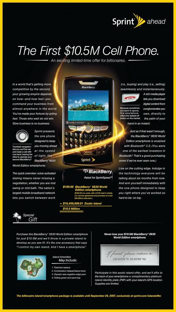 The Print Ad Titled 10 5m Cell Phone Ads Print Ads Ads