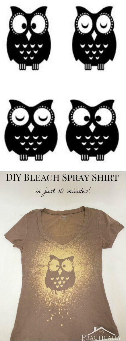 Bleach spray shirt clothes pinterest sy for Bleach dye shirt instructions