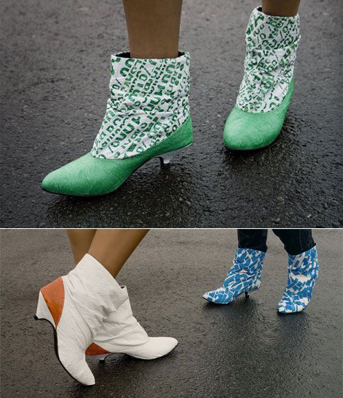 Recycled shoes
