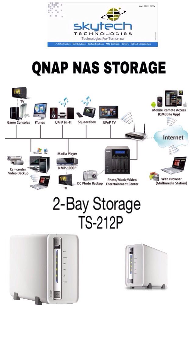 SKYTECH QNAP NAS Stroage: A Storage & File Servers for all