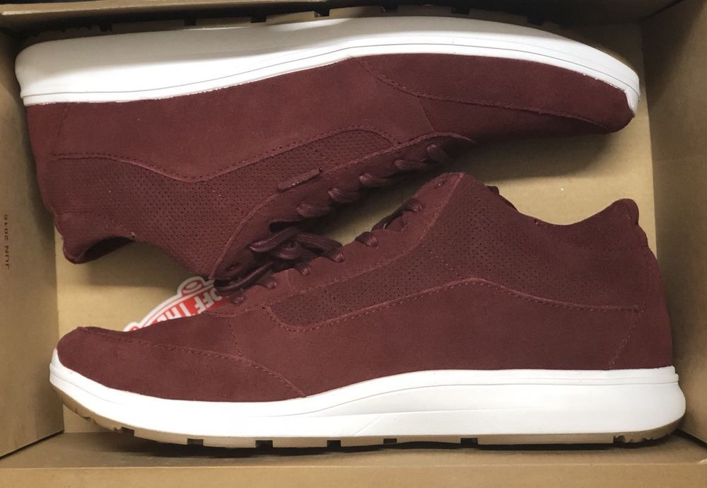 163284c03a Vans Style 201 Perf Madder Brown True White UltraCush Suede Shoes Size Men  11.5  fashion  clothing  shoes  accessories  mensshoes  athleticshoes (ebay  link)
