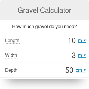 Gravel Calculator How Much Gravel Do You Need Omni Gravel Construction Calculators Calculator
