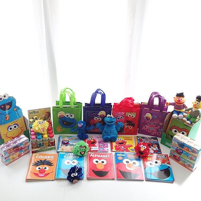 Party Favors For 2 Year Old Sesame Street Themed Birthday