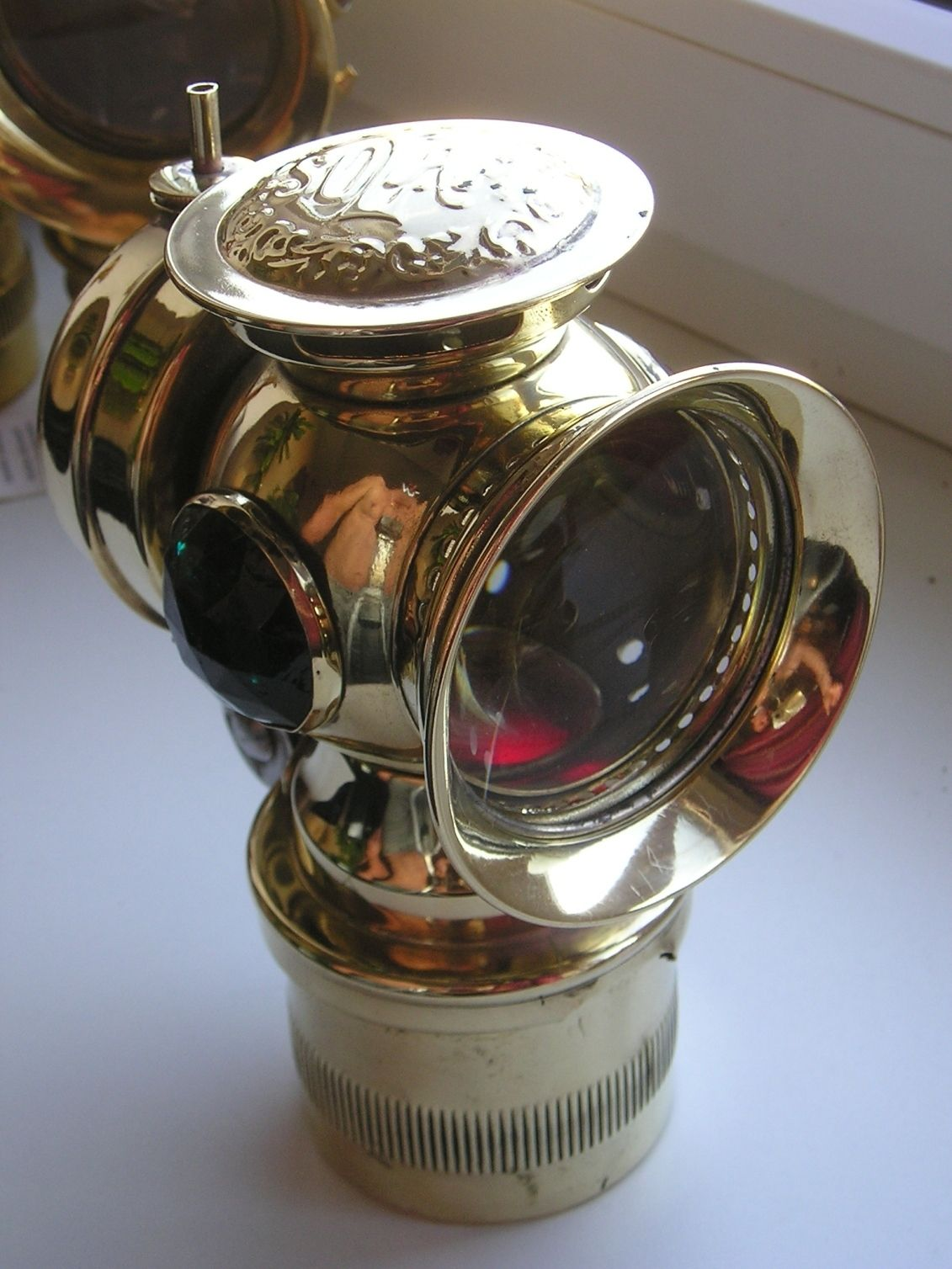 Antique Brass Carbide Acetylene Bicycle Lamp Solar Usa Ebay Antique Bicycles Bicycle Lighting Bicycle