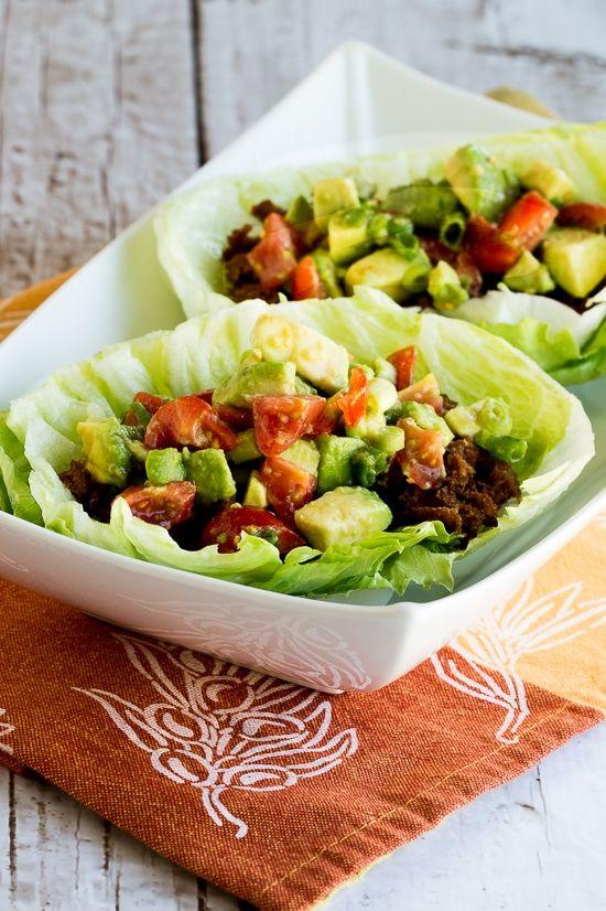 Spicy Tofu Lettuce Wrap Tacos