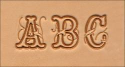 Alphabet Leather Stamping Set