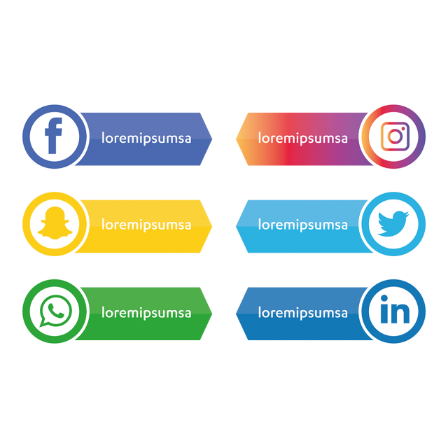 social media icons set social icons media icons social media icons png and vector with transparent background for free download icon set design media icon social media icons social media icons set social icons