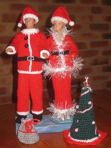 barbie et ken-Noel- http://tricotdamandine.over-blog.com/tag/robes%20de%20princesses-gala-speciales%20tutos%20%20gratuits/