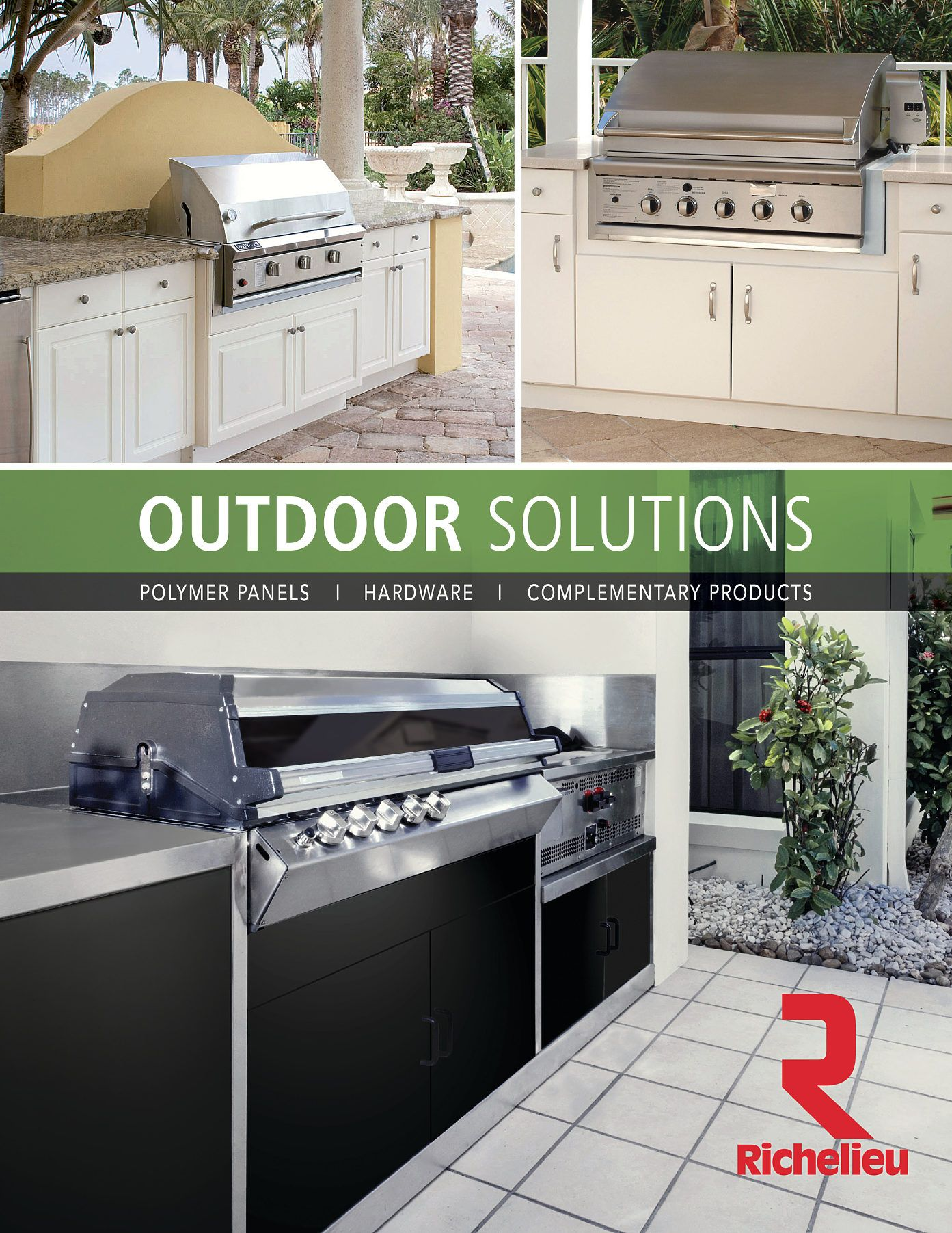 Richelieu Catalog Library Outdoors Solutions Page 1 Richelieu Hardware Outdoor Grill Richelieu Catalog