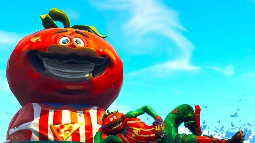 Tomatohead Fortnite Battle Royale Video Game 3840x2160 4k