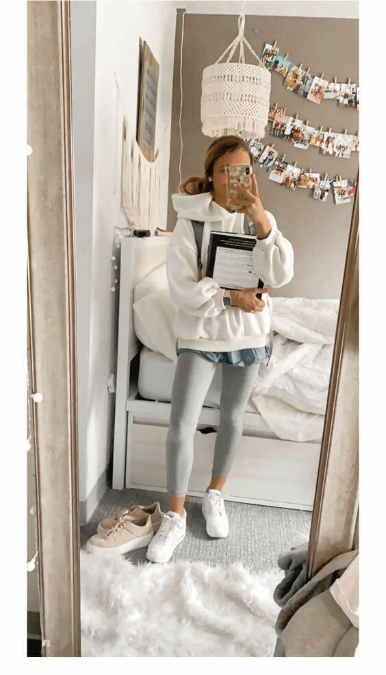 31 Grey Legging Outfit Ideas You Need to Try