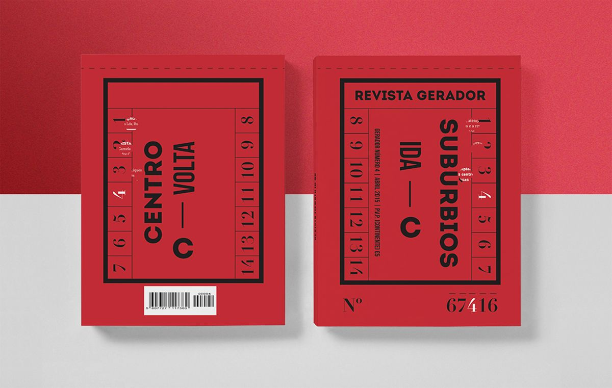 Gerador #4 on Editorial Design Served