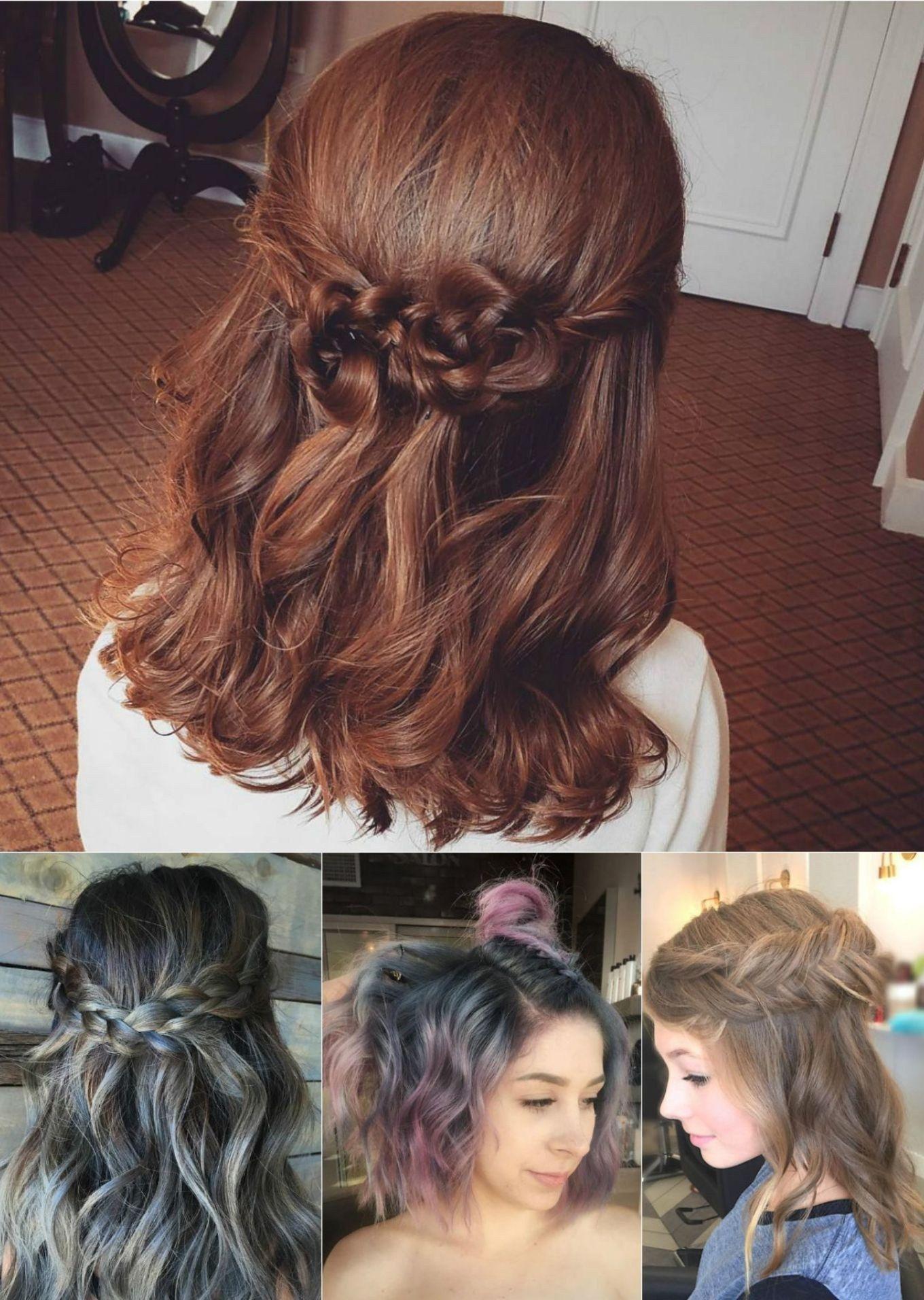 Hairstyles For Medium Hair Wedding Guest Elegant - easy wedding