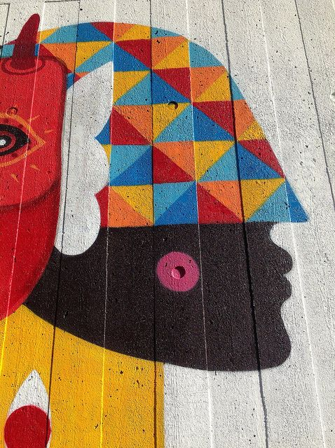 Remed & Saner @ Festival of the World South Bank London by Tristan Manco, via Flickr