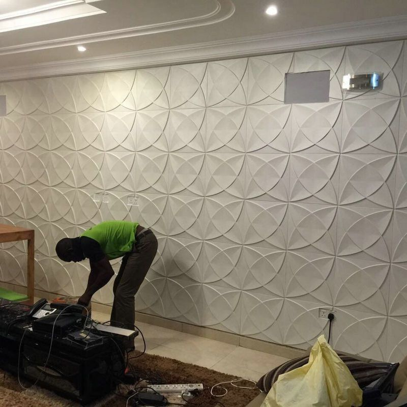 China Manufacaturer Interior And Exterior Waterproof 3d Pvc Wall