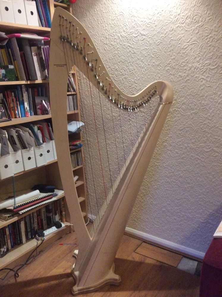 Neva 36 String Lever Harp - Light Natural | eBay | Harps For