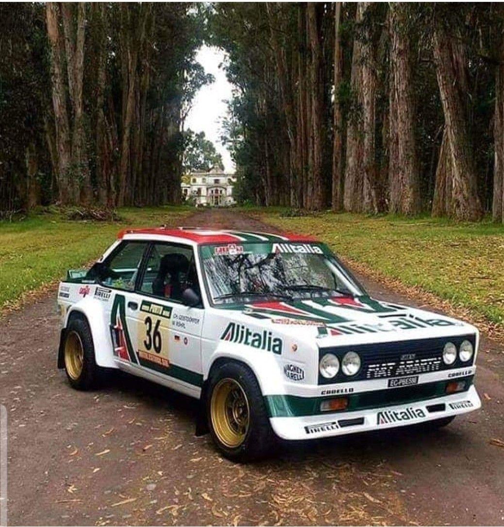 Fiat Rallysport Fiat Cars Rally Car Fiat