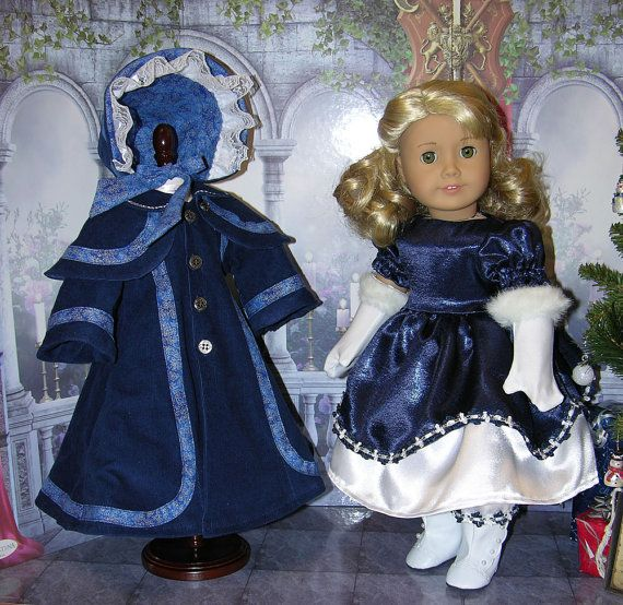 For American Girl Victorian Dress Pantalettes by cupcakecutiepie For American Girl Victorian Dress, Pantalettes, Coat… In Stock • $190