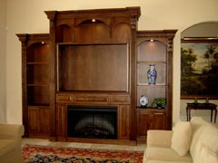 tv above fireplace picutes on side an existing wall alcove is rh pinterest com fireplace tv stand entertainment center gas fireplace/tv entertainment center