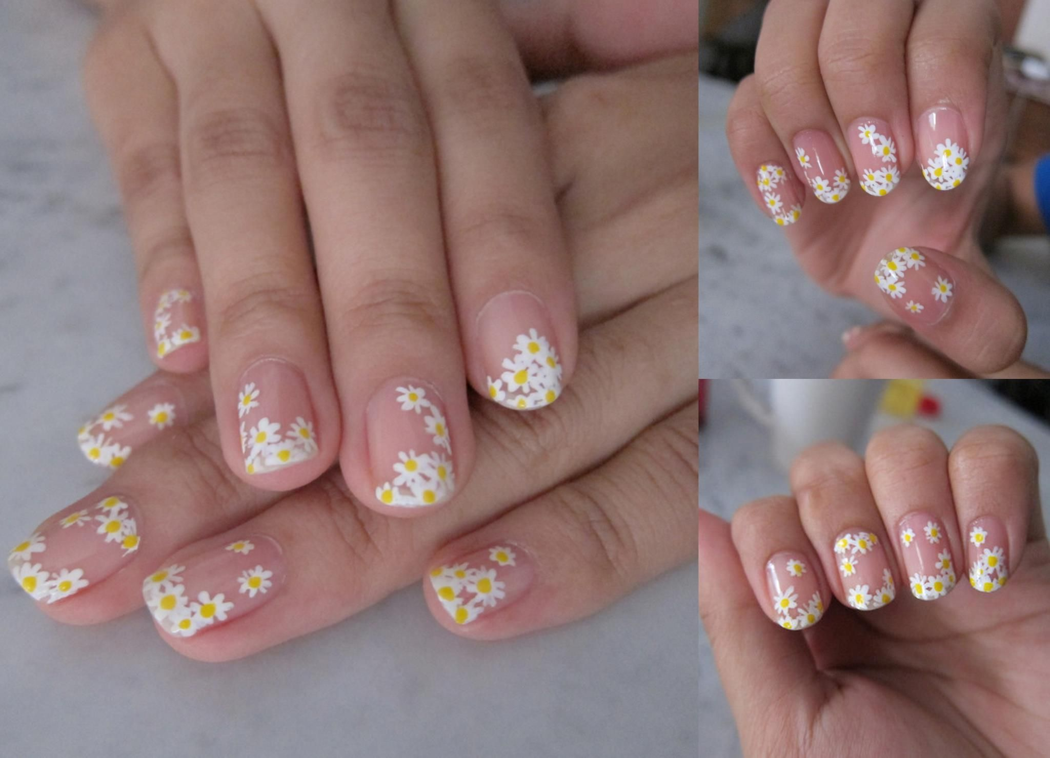 Daisies are in bloom daisy nails couture nails daisy