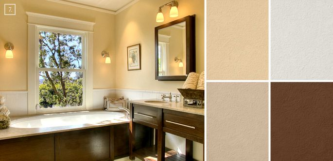 excellent good bathroom paint colors | Bathroom Color Ideas: Palette and Paint Schemes | Neutral ...
