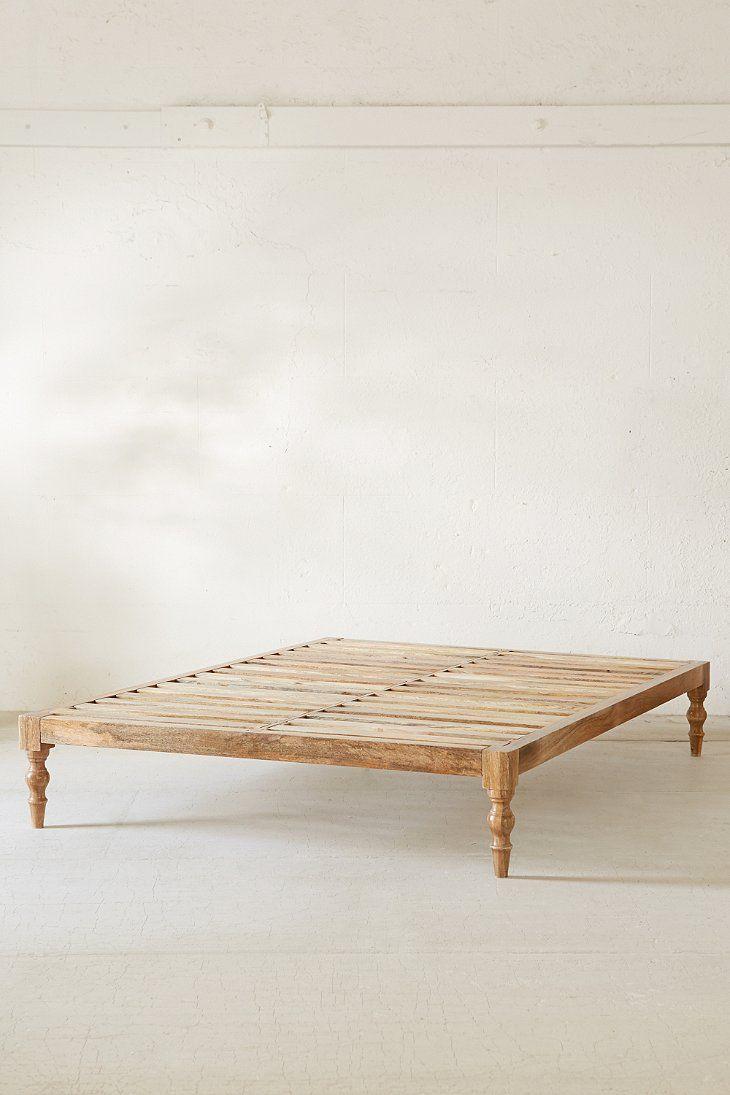 Bohemian Platform Bed Bohemian Platform Bed Boho Bed Frame